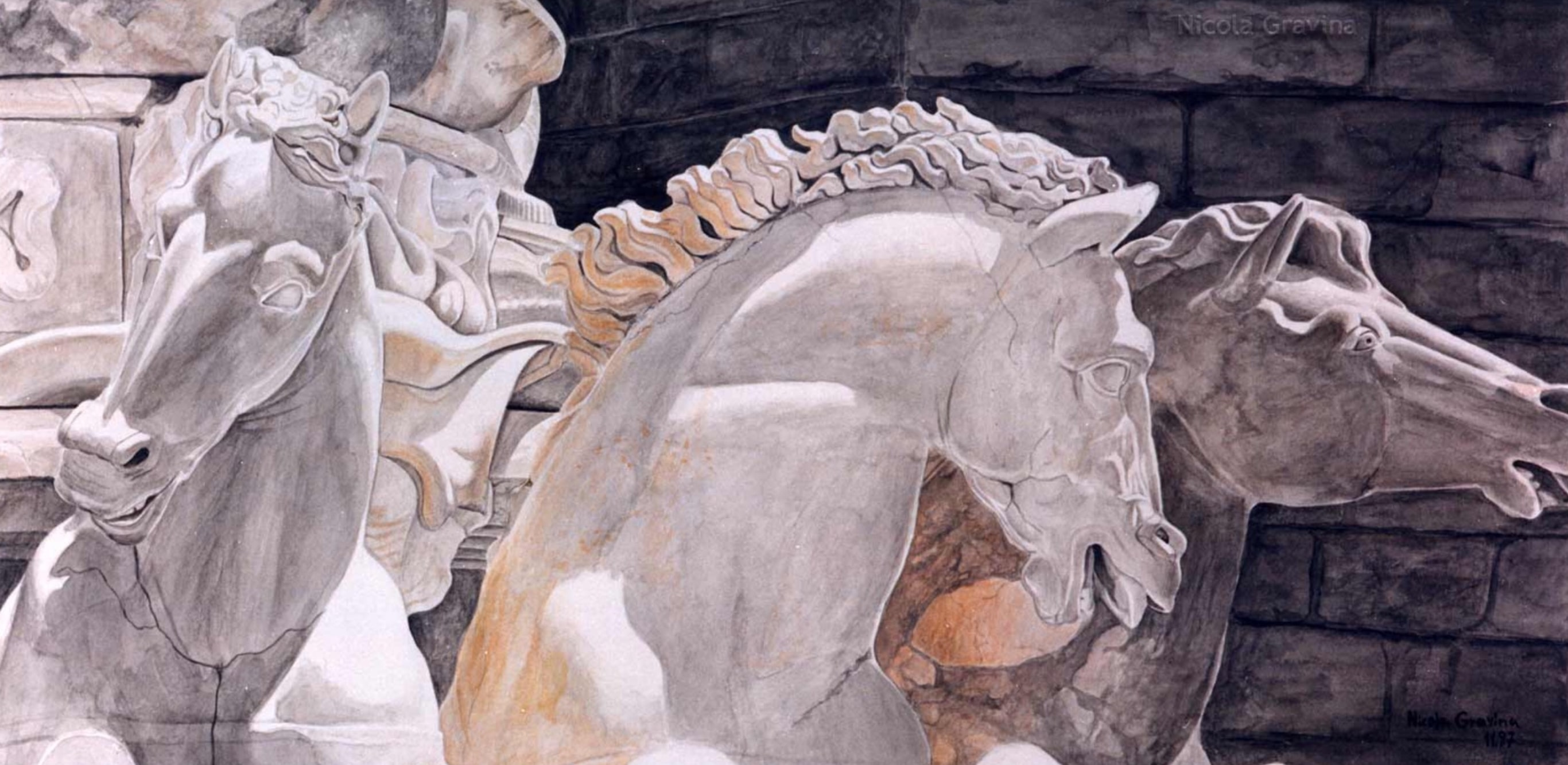 Fontana Di Ammanati – Ammanati Brunnen