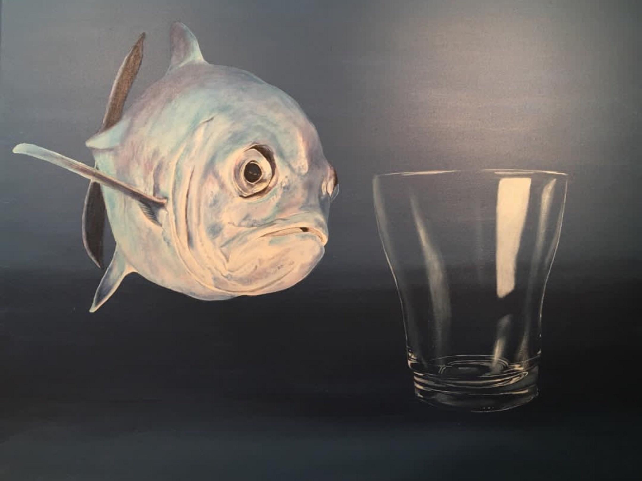 Il Pesce E Il Bicchiere – Der Fisch Und Das Glas